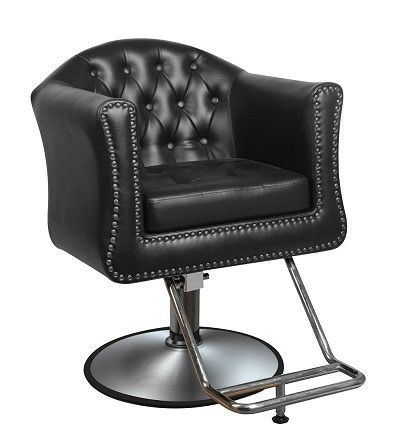 Looking for hair salon chairs that will completely revive your salon or for something classic that will never go out of style? Look no further, because we've got it. A hair salon chair which has chrome details, and stunning quilted patterns taking you back to classic England, James has reinvented style. This gentleman is a salon styling chair that instantly brings class and elegance to any salon.