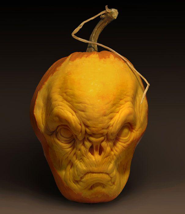 More Amazing Pumpkin Carvings by Ray Villafane   Bored Panda