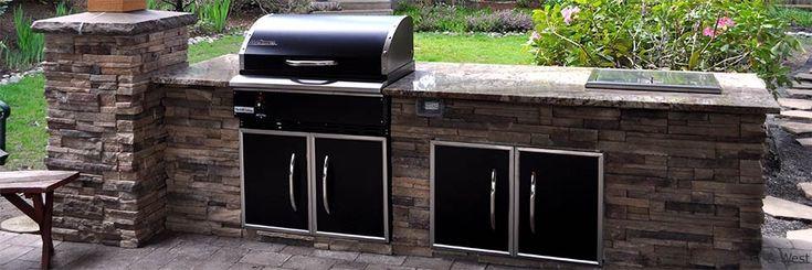 Outdoor Kitchen Design  FIRE  ICE XXX  Outdoor kitchen