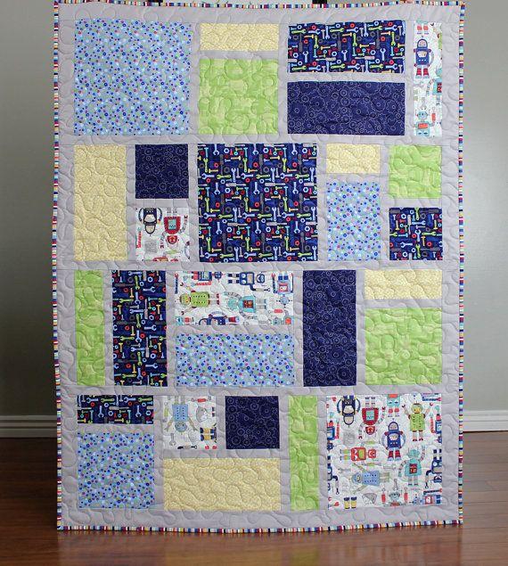 Jack S Blocks A Pdf Quilt Pattern Crib Throw Twin