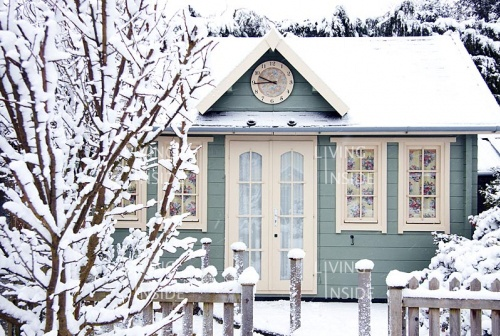Winter wonderlandTiny House, Tinyhouse, Winter, Little House, Blue, Snow, Tiny Cottages, Dreams Cottages, Little Cottages