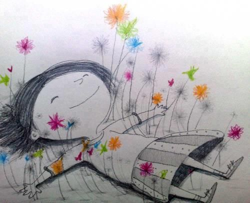 ..Adorable. This would make a cute lil tattoo... happiness :)