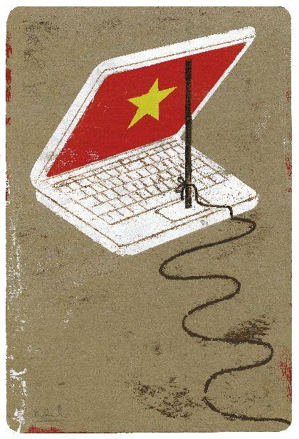 Chinese Democracy - Edel Rodriguez - The Atlantic