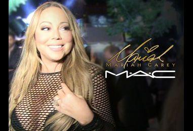 Mariah Carey Called The Shots In MAC Makeup Campaign