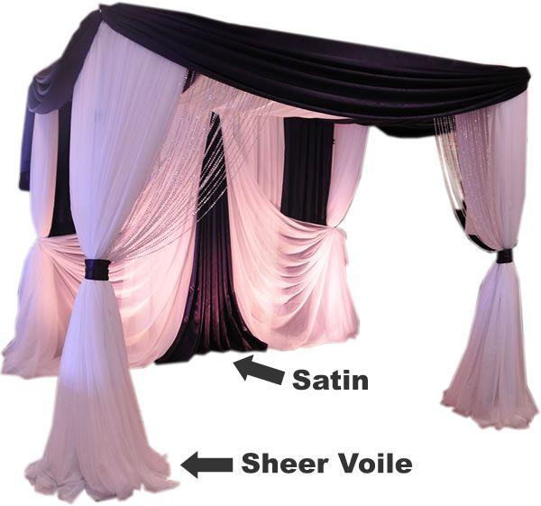 Wedding Chuppahs For Sale: Pro Series 4-Post Canopy (Chuppah / Modern Mandap