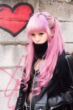 Pink kawaii hair hair hair color pretty hair hairstyle hair ideas beautiful hair hair cuts