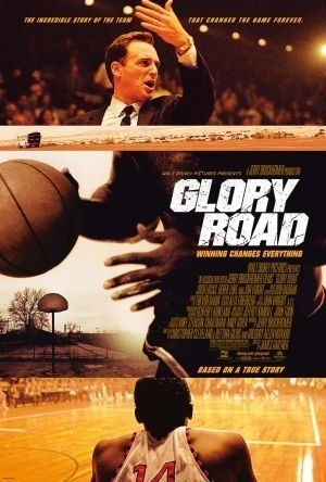 Glory Road - In 1966, Texas Western coach Don Haskins led the first all-black starting line-up for a college basketball team to the NCAA national championship.