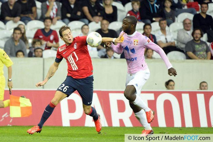 Photos Foot - Nolan ROUX - 24.09.2013 - Lille / Evian Thonon - 7eme  Journee de Ligue 1