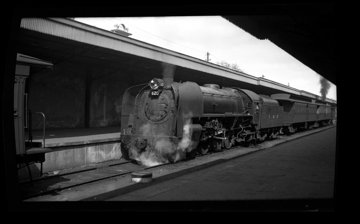 https://flic.kr/p/MxLWzi   South Australian Railways 620-class Locomotive 620 at Adelaide Railway Station, Adelaide, South Australia, [n.d.]   This image was scanned from an original glass plate or negative, kindly provided by the Australian Railway Historical Society, New South Wales Division. Please contact Cultural Collections if you are a subject of the interview, or know a subject of the interview, and have cultural or other reservations about the interview and summary being made…