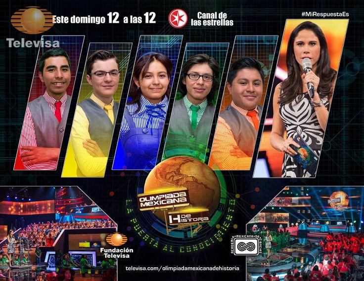 ¡Ellos han sido los conductores de la Olimpiada Mexicana de Historia!