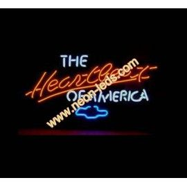 Find best Heartbeat of America Neon Sign for sale, Affordable Heartbeat of America Neon Sign, 2 years of quality warranty, 100% undamage guaranteed
