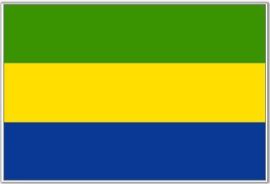 Drapeau Gabon (#Flag of #Gabon)