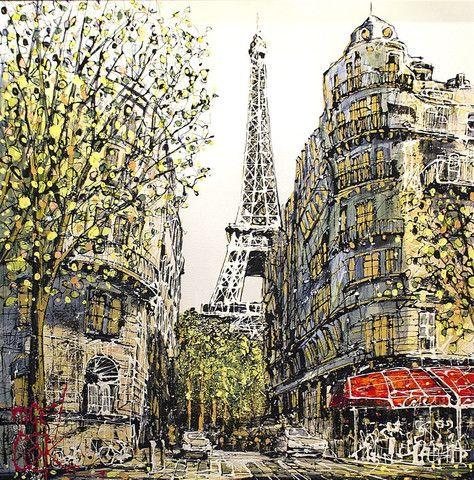 La Tour Eiffel - NIGEL COOKE