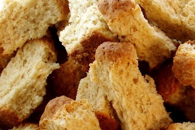 Buttermilk Ouma Rusks Recipe - I just replaced reg four with self-raising + 1tsp of bicarbonate. Delish!!