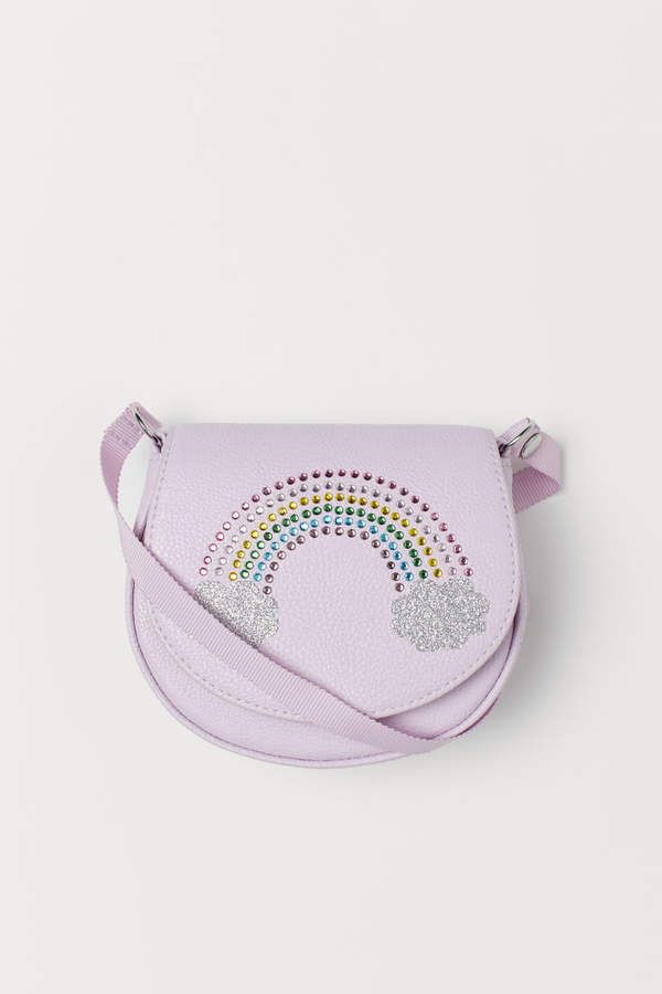 small sparkly bag