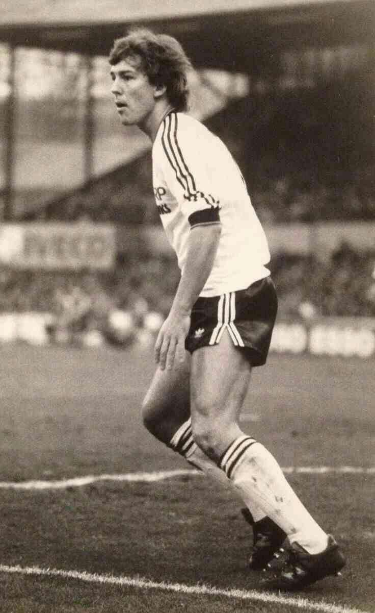 Bryan Robson of Man Utd in 1982.