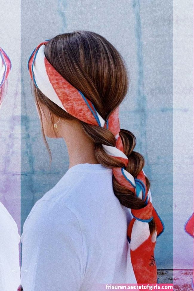 21 Pretty Ways To Wear A Scarf In Your Hair Scarf Hairstyles Hair Scarf Styles Bandana Hairstyles For Lo Hair Scarf Styles Cool Hairstyles Scarf Hairstyles
