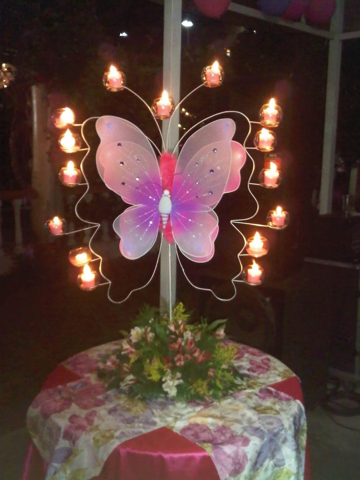 Continuando con el tema MARIPOSAS, aqui te dejo estos centros de mesa, que aunque tienen en comun la mariposa, hay para todos los gus...