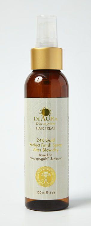 Завершающий спрей для волос после сушки феном Perfect Finish Spray After Blow-Dry  Спрей используется для завершения укладки после термообработки. Натуральные масла, экстракты и витамин Е в его составе делают окрашенные, сухие и пушистые волосы гладкими и шелковистыми, а также сохраняют яркость цвета.   Способ применения. Используйте спрей для завершения укладки. Распылите его на готовую прическу на расстоянии 20–25 см., и она будет идеальной на протяжении всего дня.