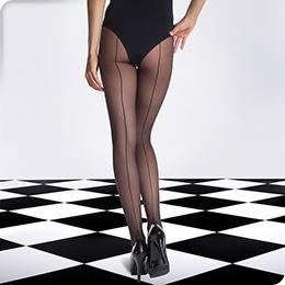Collant DIM SIGNATURE Couture 20D, NOIR