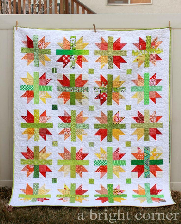 264 besten Quilts Bilder auf Pinterest | Tagesdecken, Quiltmuster ...