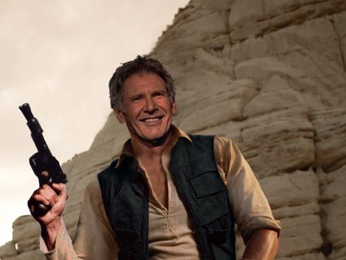 Harrison Ford de Han Solo en el episodio VII? Un poco talludito, no?