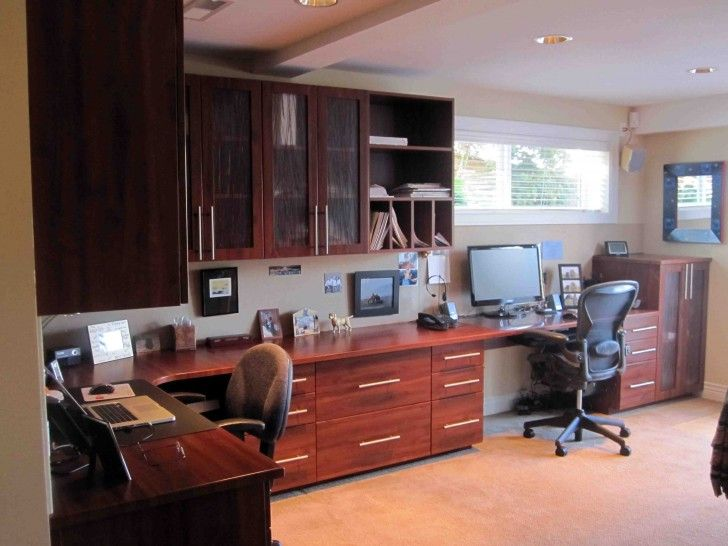two person home office desk. home design the house office room with desk designed for two person