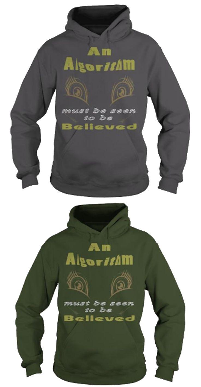 Design t shirts hoodies - Algorithm Hoodie Design Simple Unique