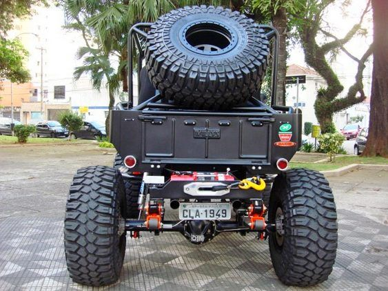 Black Edition Jeep Willys