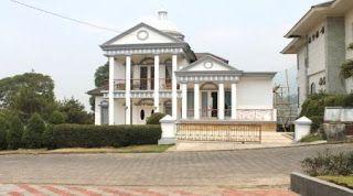 villa istana bunga untuk rombongan