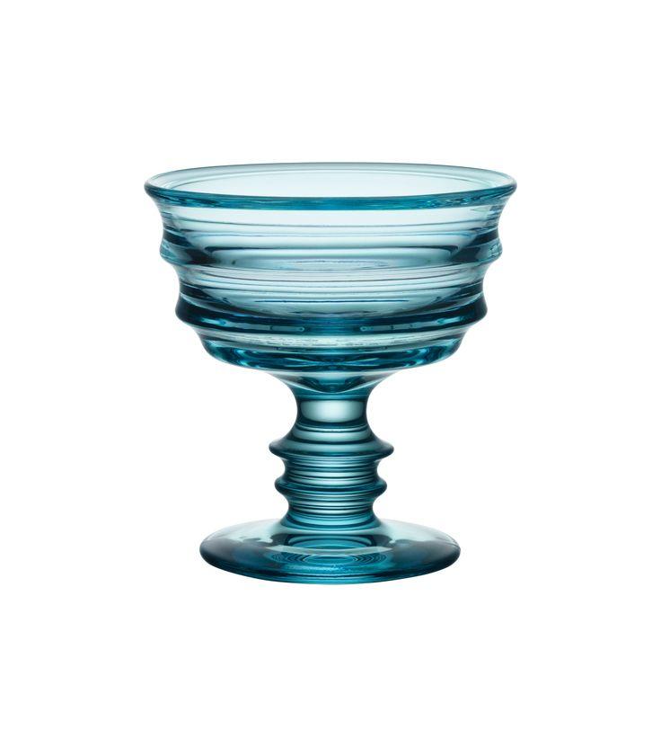 By Me Bowl Turqouise, design by Martti Rytkönen for Kosta Boda