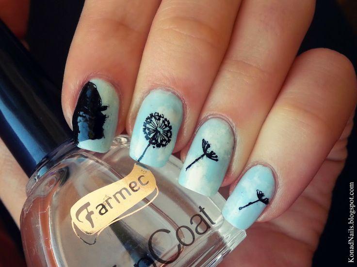 The 25 best dandelion nail art ideas on pinterest pretty nails dandelion nail art prinsesfo Gallery