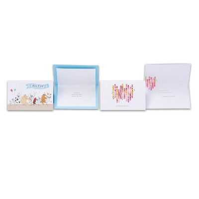 8ct American Greetings Congratulations Greeting Card Collection,