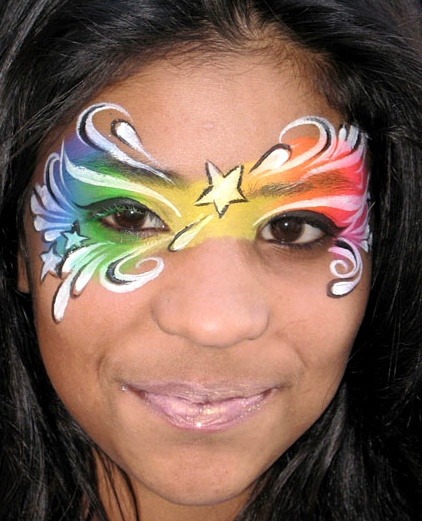 D Face Paintings