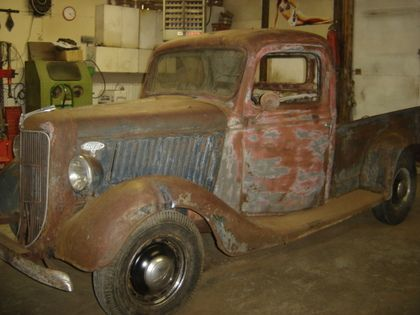 1936 Ford 1/2 Ton Short Box - Ford Trucks for Sale | Old Trucks ...