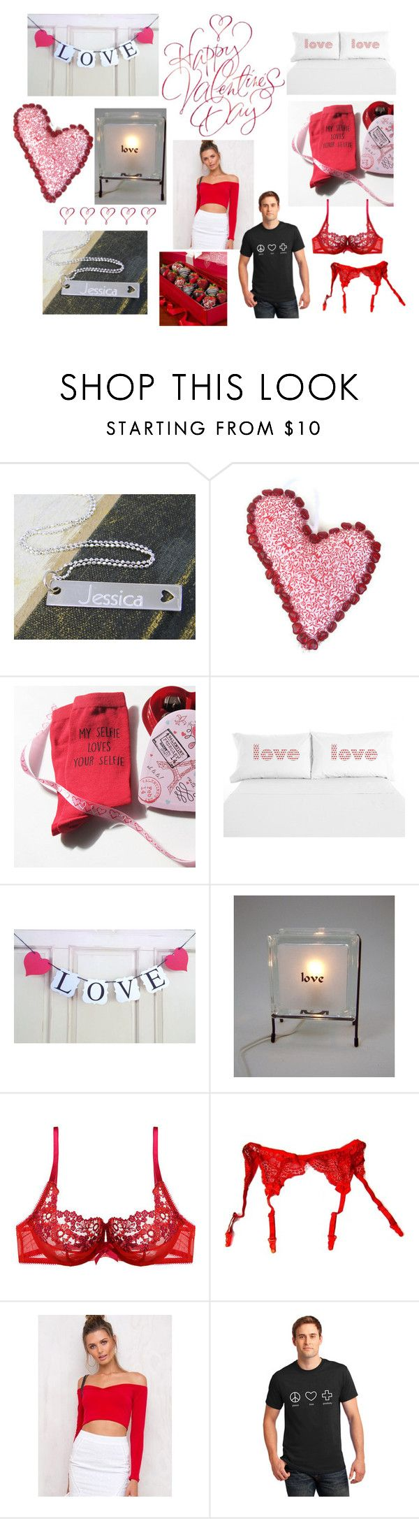 """""""Valentines Day is on the Way"""" by crsevier ❤ liked on Polyvore featuring Gossard and Motel"""