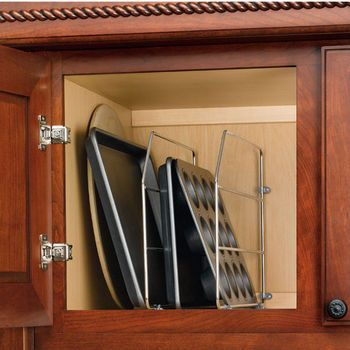 A No Brainer For Organizing Todayu0026 Kitchens, Rev A Shelf Tray Dividers Are  A Practical Solution For Storing Baking Sheets, Serving Dishes, Cake Pans  And ...