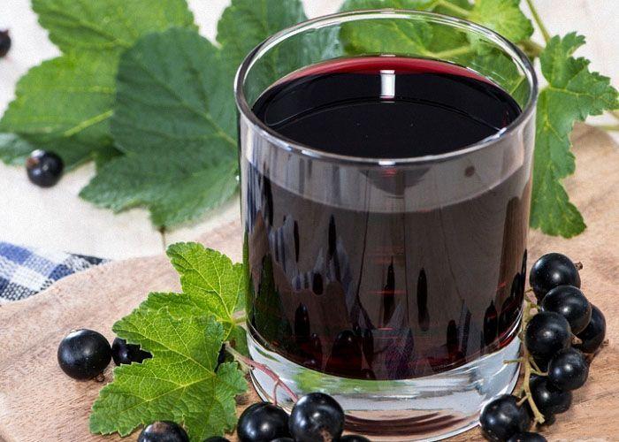 Вино из черной смородины без дрожжей