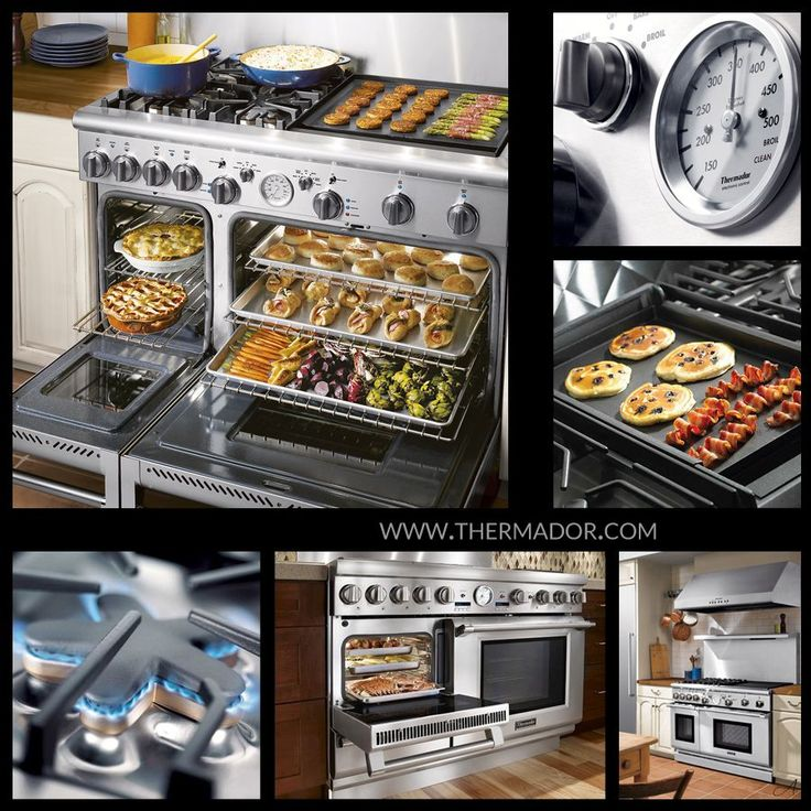 Dream stove by @Thermador Home Appliances Home Appliances #Appliances