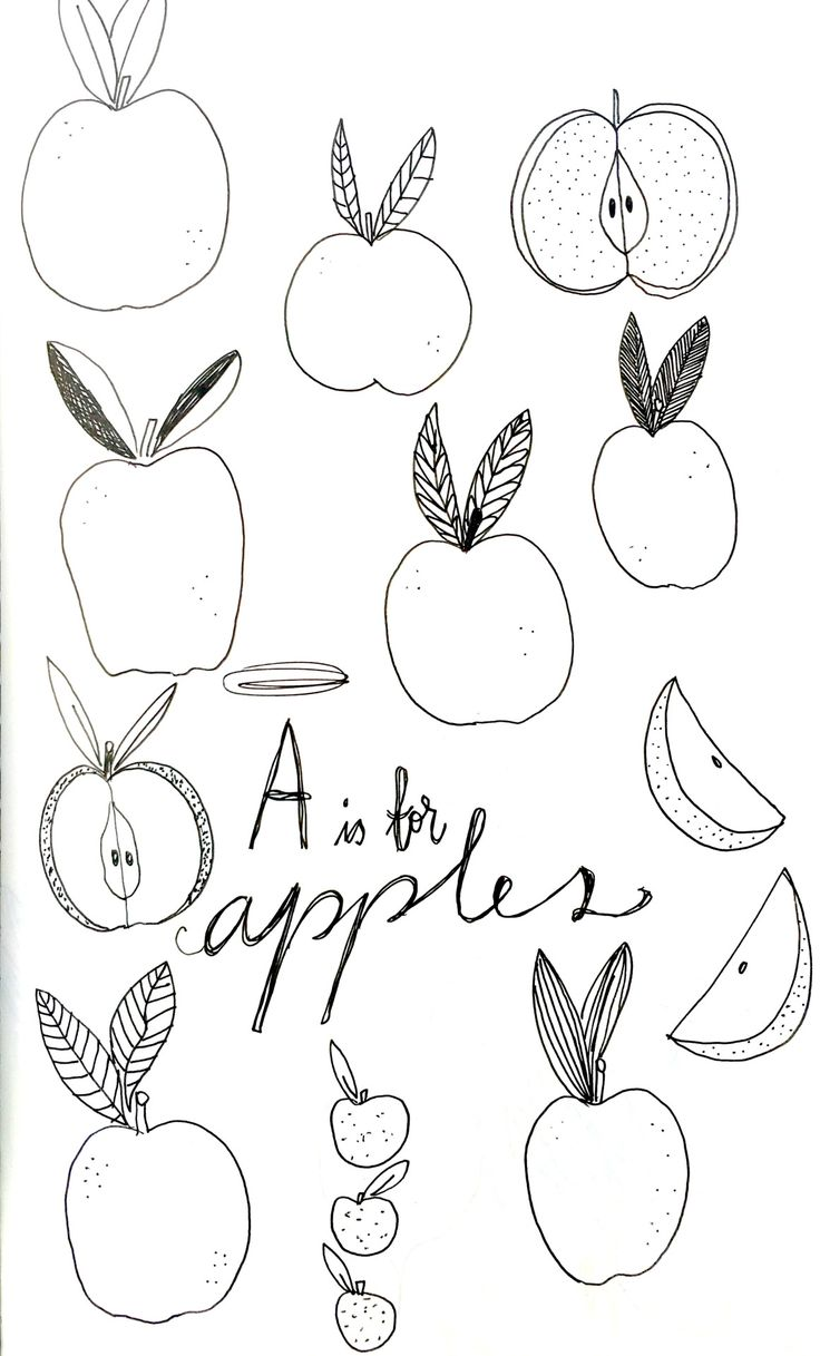 Holly Court Illustration | A is for Apples   #illustration #moleskine…