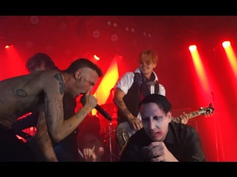 Marilyn Manson, Johnny Depp and Ninja - THE BEAUTIFUL PEOPLE - what we should try to do too!