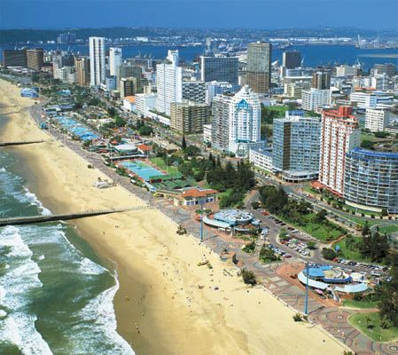 Oh how we LOVED this beach!! My favorite in the world because of the memories.   Durban, South Africa