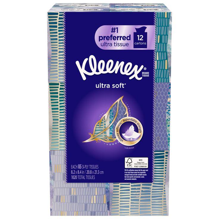 Kleenex Ultra Facial Tissue 12-pack