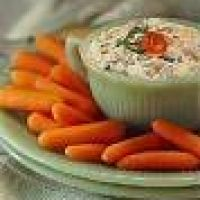 Swimming Tuna Dip (tuna, cottage cheese and ranch packet - SO GOOD w veggies) Not sure about the ranch packet? Subs?