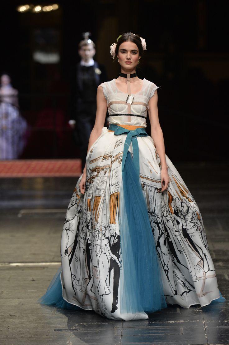 Dolce & Gabbana Alta Moda Haute couture Spring/Summer 2016 86