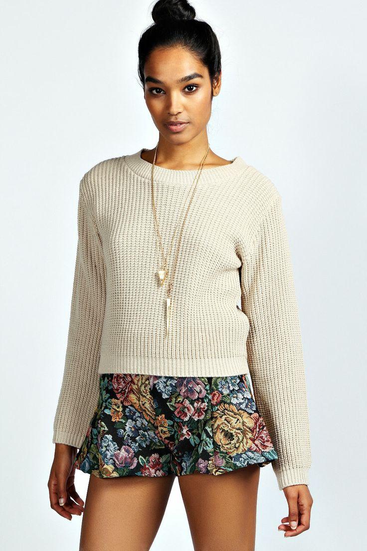 Olivia Tapestry Highwaisted Shorts//