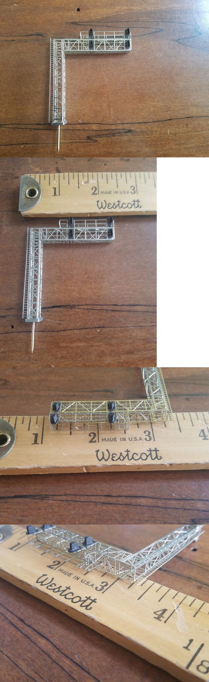 Other HO Scale Parts and Accs 11644: Z Scale Stonebridge Models Modern Cantilever Signal Bridge (Left Hand)- Special! -> BUY IT NOW ONLY: $40 on eBay!