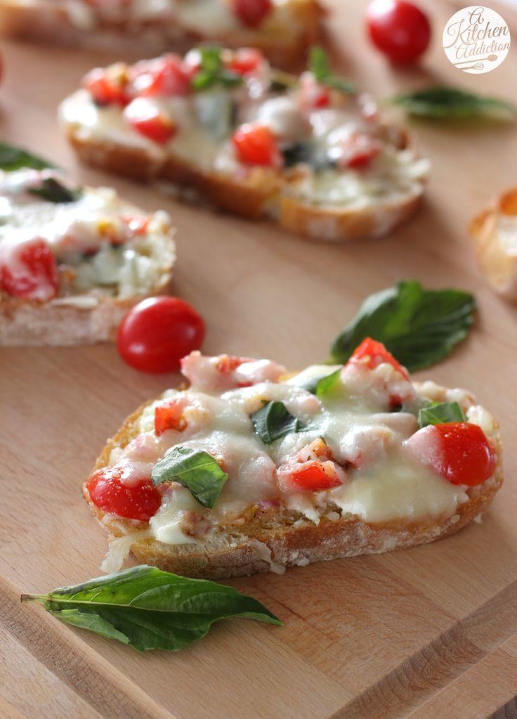 Bruschetta Melts Recipe l www.a-kitchen-addiction.com