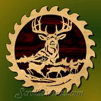 Scroll Saw Letter Patterns | Scroll Saw Patterns :: Wildlife :: Saw blade - deer #3 -