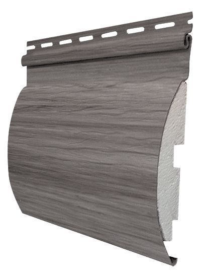 Adirondack 6.5inch x 12 ft. Siding in River Rock Grey (14